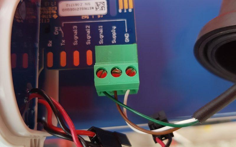 Slik kobler du NETRIS2 når bare en sensor